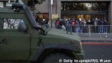 Belgien höchste Terrorwarnstufe in Brüssel