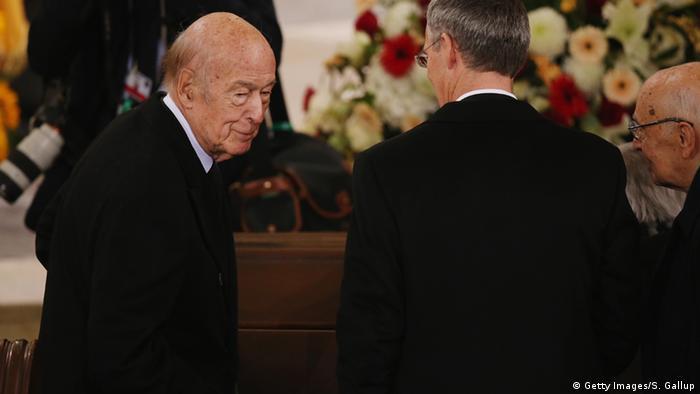 Deutschland Staatsakt für Helmut Schmidt in Hamburg - Valéry Giscard d'Estaing (Getty Images/S. Gallup)
