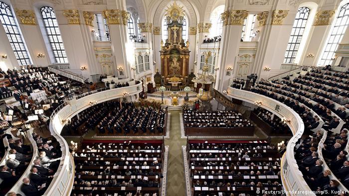 Deutschland Staatsakt für Helmut Schmidt in Hamburg