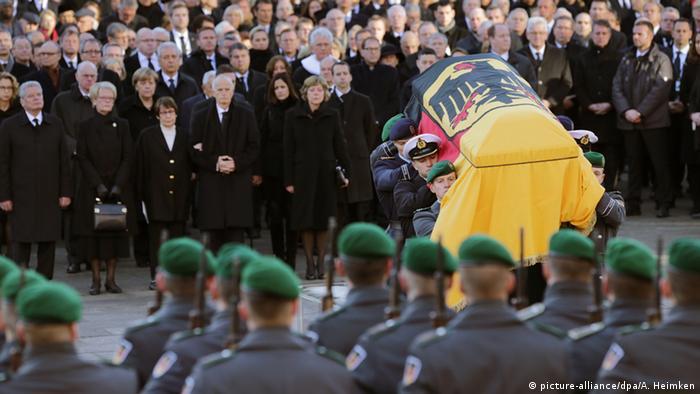 Deutschland Begräbnis von Helmut Schmidt in Hamburg