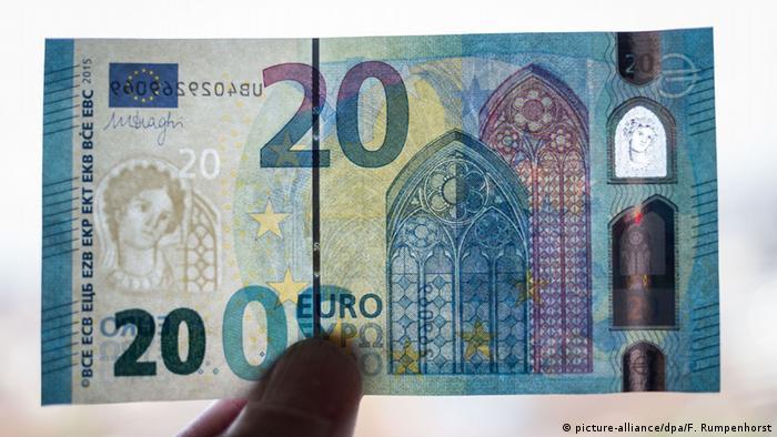 Нова банконота номіналом у 20 євро