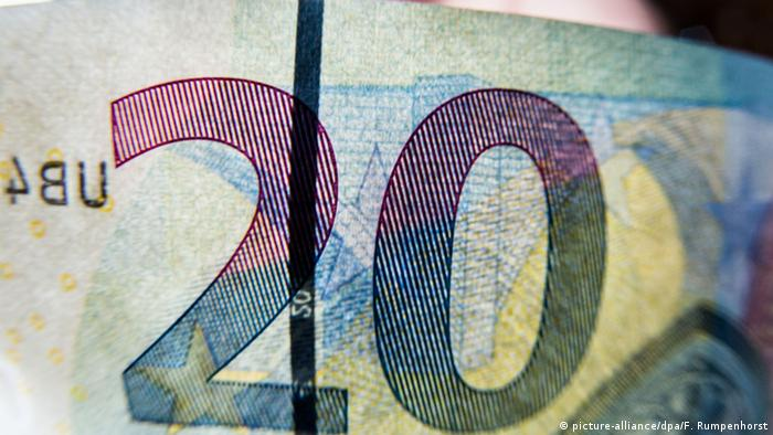 Купюра 20 евро