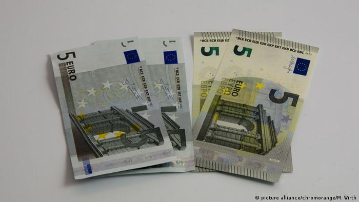 Bildergalerie Euroscheine