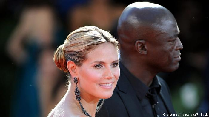 Heidi Klum and Seal (picture alliance/dpa/P. Buck)