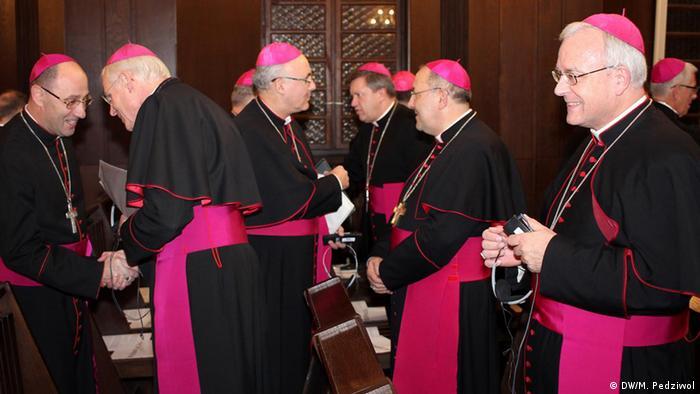 Treffen der deutschen und polnischen Bischöfe in Tschenstochau Schick und Stanisław