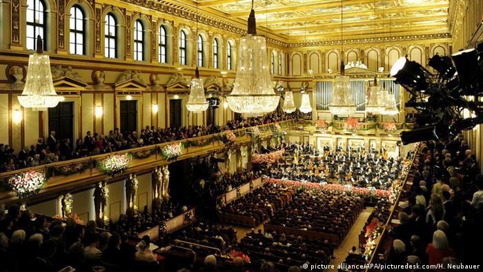 Concertos de Ano Novo da Filarmônica de Viena são assistidos por 50 milhões em 90 países
