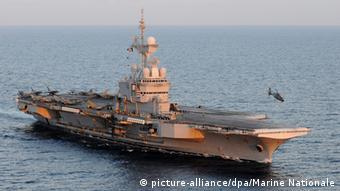 Авианосец ВМС Франции Шарль де Голль