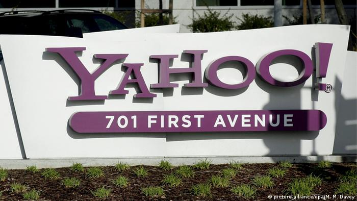 Logo Yahoo! (picture-alliance/dpa/M. M. Davey)