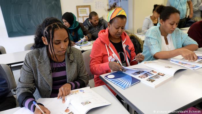 Sprachkurs für Flüchtlinge aus Syrien Eritrea Iran Irak Deutschkurs Deutsch lernen