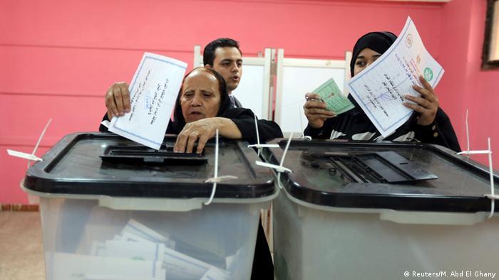 Ägypten Parlamentswahlen 2015 (Reuters/M. Abd El Ghany)