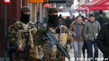 Belgien Sicherheitsmaßnahmen in Brüssel