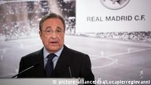 Real Madrid Florentino Perez PK Pressekonferenz