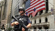 Symbolbild Terrorwarnung USA New York