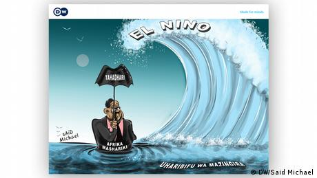 Karikatur El Nino von Said Michael