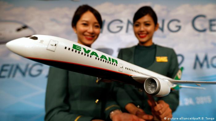 Taiwan Boeing 787 Modell EVA Air (picture-alliance/dpa/R.B. Tongo)