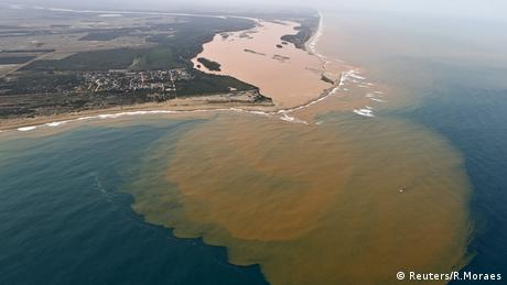Brasilien Rio Doce Damm Bruch Überflutung