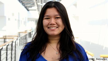Khanh Ly Tran Phung, IMS student from Germany, class of 2015-2017 (photo: Andres Gonzales).
