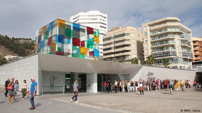 Centre Pompidou in Málaga, Spain (DW/S. Oelze)