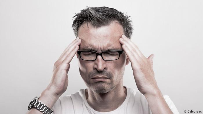 Krankheit Kopfschmerzen (Colourbox)