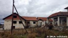 Bosnien-Herzegowina, verfallene Schule in Visegrad Foto: Nenad Velickovic