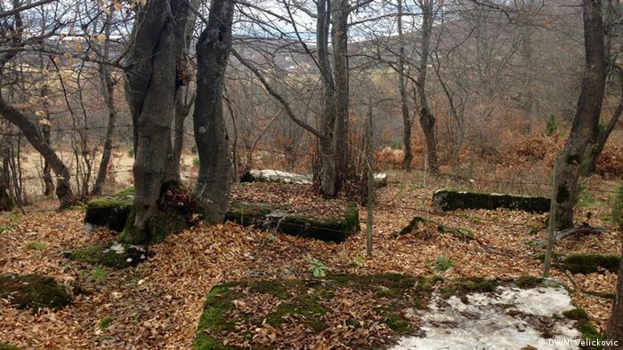 Bosnien-Herzegowina, Friedhof in Visegrad