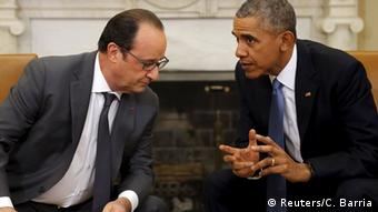 Francois Hollande und Barack Obama (Foto: Reuters)