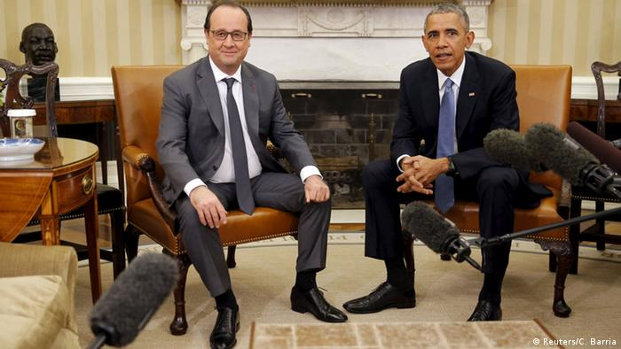 USA, Francois Hollande und Barack Obama (Foto: Reuters)