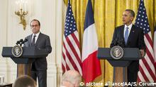USA, Francois Hollande und Barack Obama
