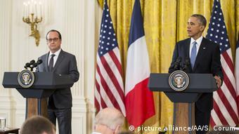USA, Francois Hollande und Barack Obama