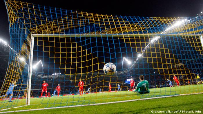 UEFA Champions League-Gruppe E Fußball FC BATE Borisov gegen Bayer 04 Leverkusen
