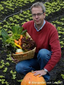 Photo of Alexander von Loebell, founder of BioPlaza