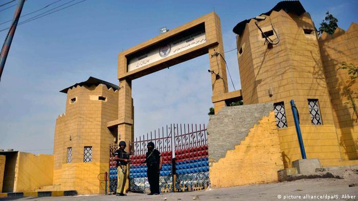 Symbolbild Pakistan Gefängnis (picture alliance/dpa/S. Akber)