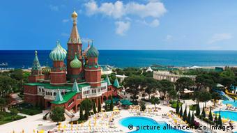 Одна из целей российских туристов в Турции