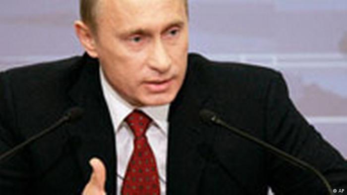 Russland Wladimir Putin Pressekonferenz in Moskau (AP)