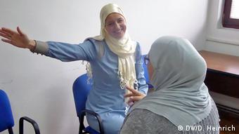Šemsa Ahmetspahić s pacijenticom