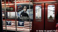 USA, Werbung für TV-Serie The Man in the High Castle