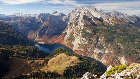 Königssee und Watzmann