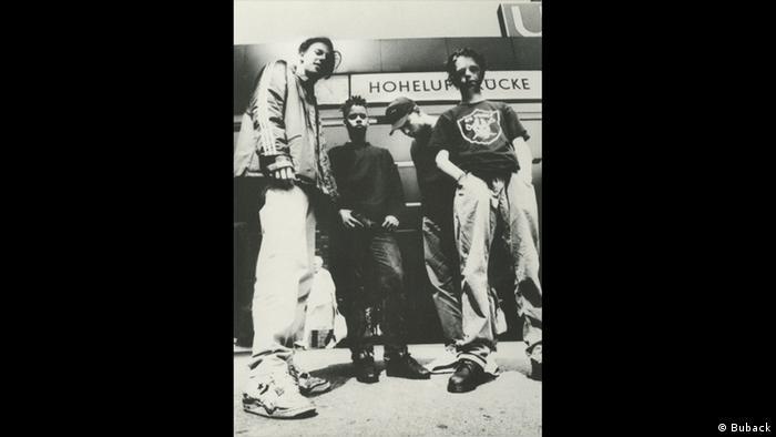 Die Hamburger Rap-Gruppe Absolute Beginner