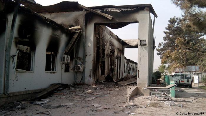 Hospital da organização Médicos Sem Fronteiras na província de Kunduz