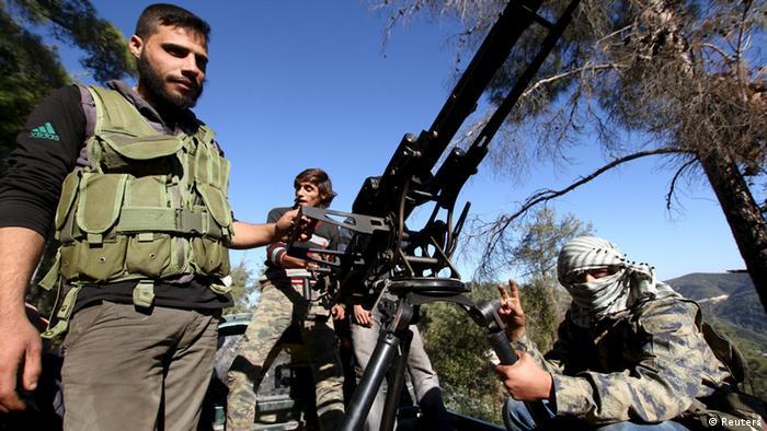 У повстанцев на севере Сирии есть системы ПВО