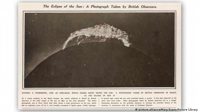 Brasilien Sonnenfinsternis 1919 - Beweis der Relativitätstheorie (picture-alliance/Mary Evans Picture Library)