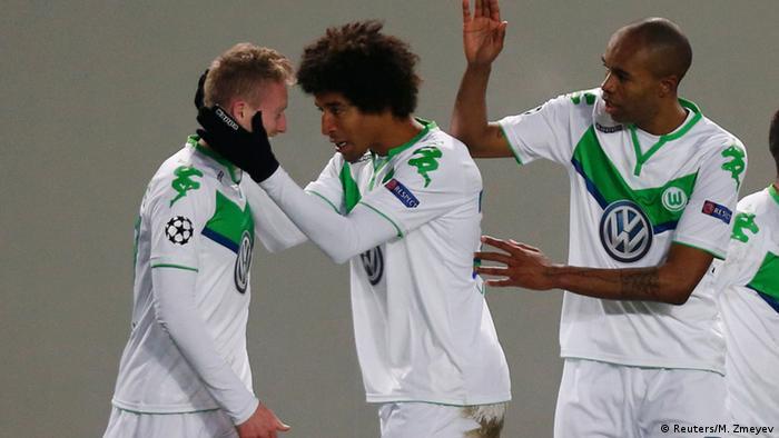 Russland, Champions League CSKA Moscow - VfL Wolfsburg