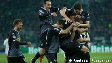 Deutschland, Champions League Borussia Mönchengladbach - FC Sevilla