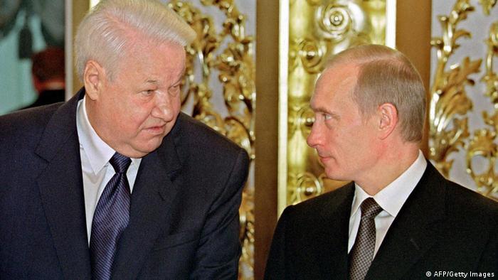 Russland, Wladimir Putin und Boris Jelzin (AFP/Getty Images)