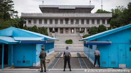 Panmunjom Grenze Nordkorea Südkorea Joint Security Area