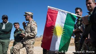 Deutschland Irak Bundeswehr bildet Peschmerga aus