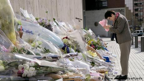 Frankreich Japan Trauer für die Opfer der Anschläge in Paris Botschaft in Tokio