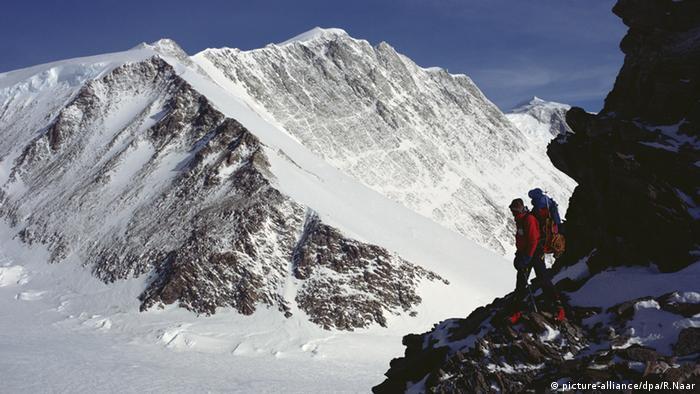 Mount Vinson Berg höchster Berg der Antarktis (picture-alliance/dpa/R.Naar)
