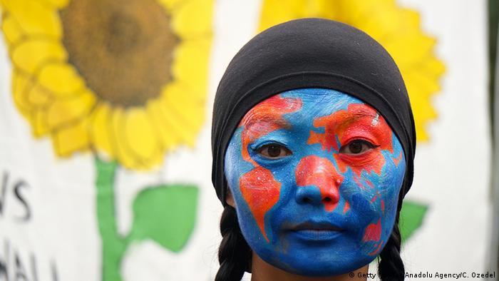 USA Demonstration zu Klimakonferenz in New York (Getty Images/Anadolu Agency/C. Ozedel)