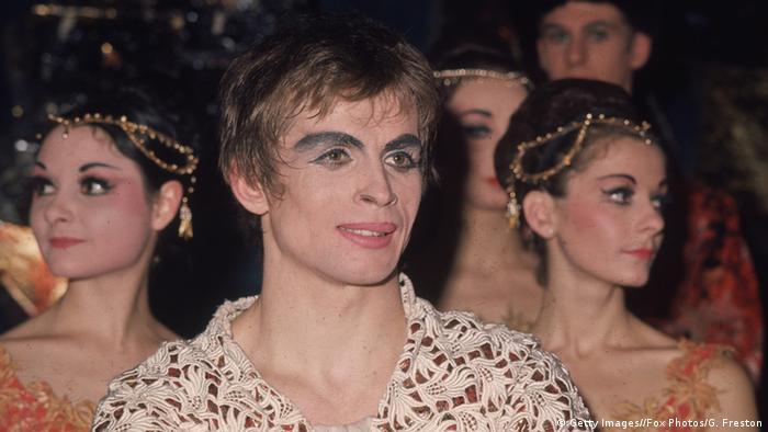 Ο διάσημος χορευτής Ρούντολφ Νουρέγιεφ